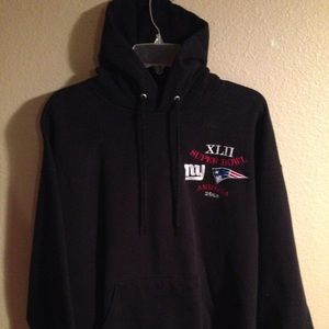 Super Bowl XLII Giants Patriots 2008 Mens sweater
